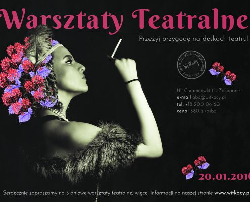projekt plakatu teatr