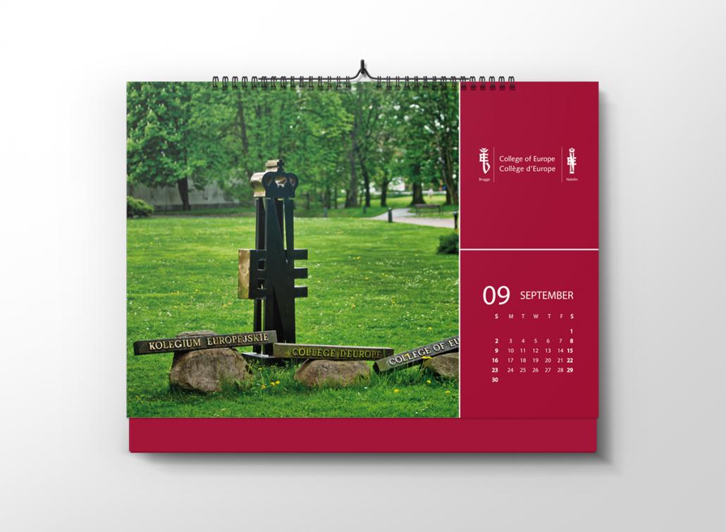 kalendarz 2018 collage of europe