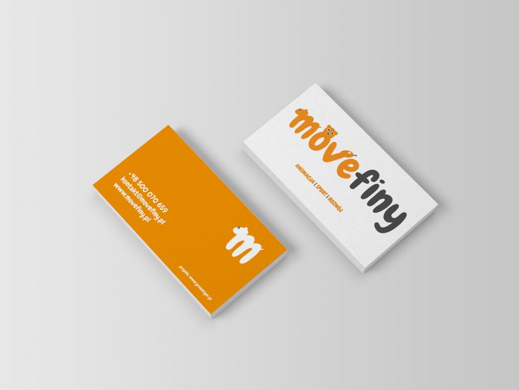 movefiny projekt wizytówek