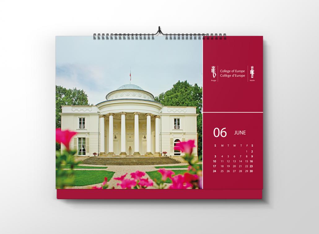 projekt kalendarza A6