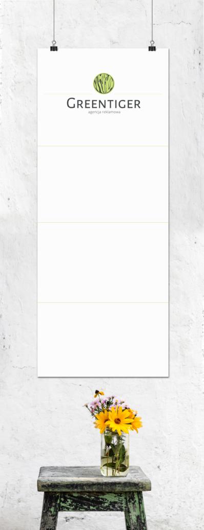 kalendarz trójdzielny darmowy mockup