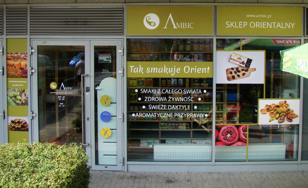 projekt witryny sklepowej dla Ambic