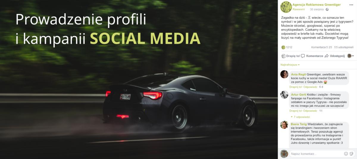 kampanie social media - agencja reklamowa warszawa