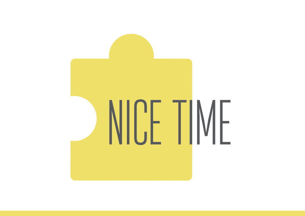 projekt logo przygotowany dla Nice Time
