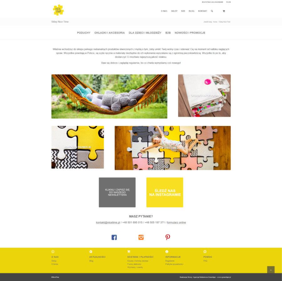 projekt sklepu e-commerce